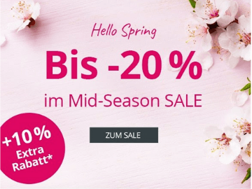 Frühlings-Sale bei Peter Hahn: 10 % Extra-Rabatt