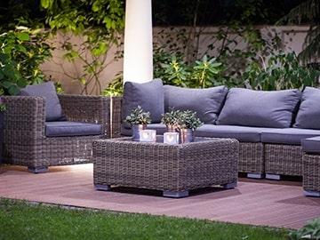 Home24 Frühlings Gutschein: 15 % Rabatt auf Gartenmöbel